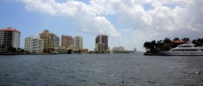 The highrises of Ft Lauderdale