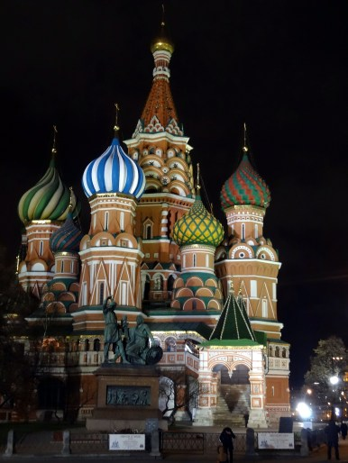 Saint Basil's Cathedral in Red Square