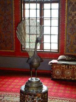 Bakhchisaray Palace interior - Peacock