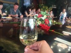 Champagne tasting at Golitsyn's House of Champagne Wines in Novy Svet