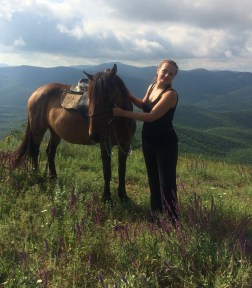 Horseback riding in Crimea