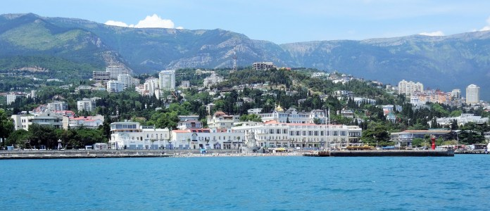 Yalta from the Black Sea