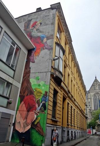 Antwerp street art