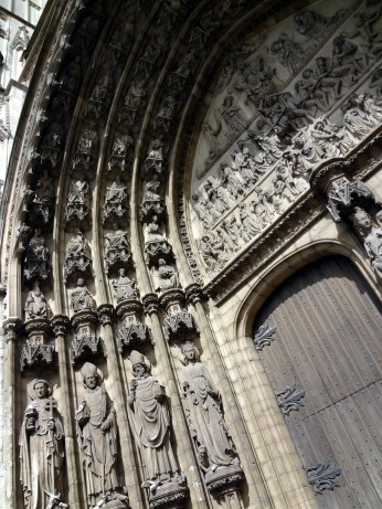 Cathedral of Our Lady in Antwerp - detail