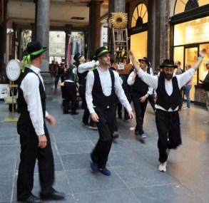 Dancing in Brussels