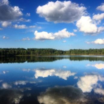 Lake in Estonia 2