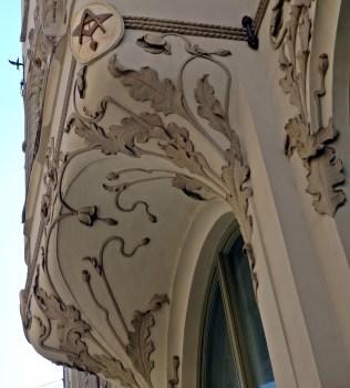 Riga Art Nouveau Detail 1