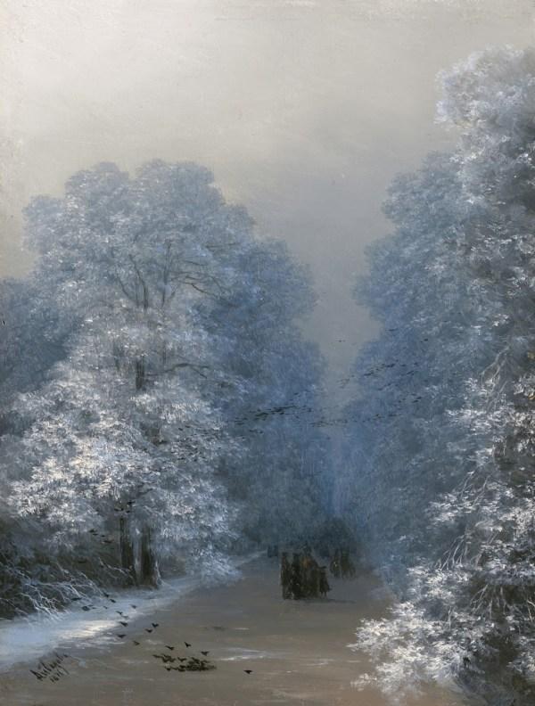 russian winter in art