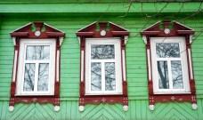 Suzdal wood architecture zodchestvo window 10