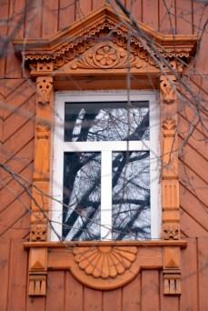 Suzdal wood architecture zodchestvo window 2