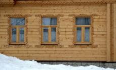Suzdal wood architecture zodchestvo window 5