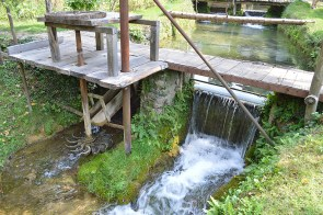 Small waterwheel