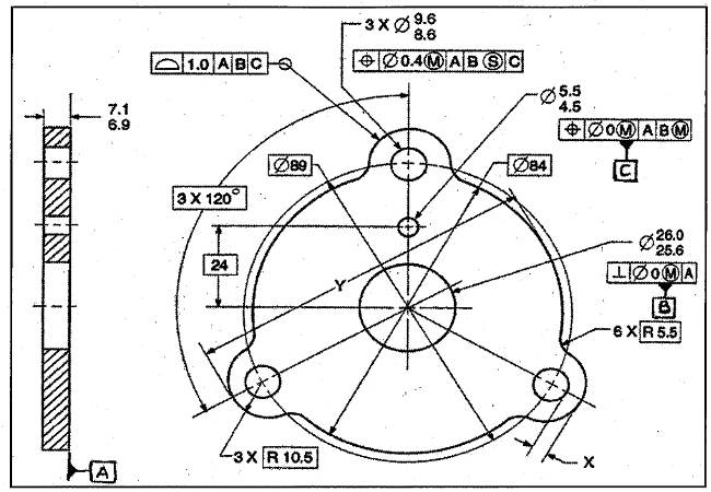 Geometric Dimensioning & Tolerancing (GD&T) in Design