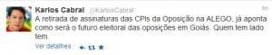 Deputado Karlos Cabral (PT): decepção e maus tratos contra a língua portuguesa