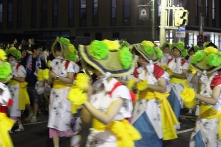 五所川原第一高等学校 全日制 立佞武多 流し踊り
