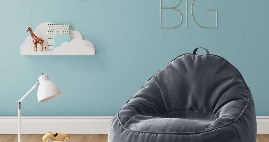 Ghế lười quả lê ( màu xám )