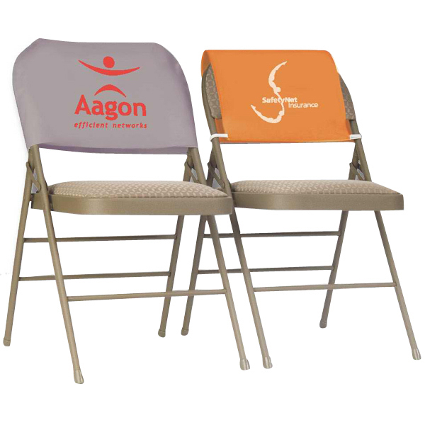 chair covers for headrest low back lawn target draped pvc polyester advertising cover goimprints