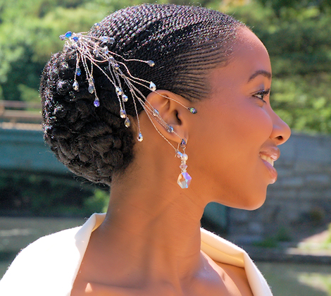 Natural Hairstyles For Brides Weddings Archives Going Natural