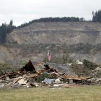 The Oso slide outside Arlington Washington