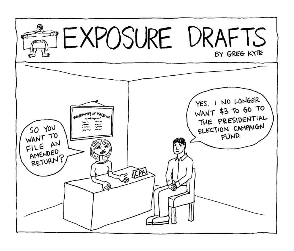 Exposure Drafts: CPA Clients Experiencing Election Fatigue