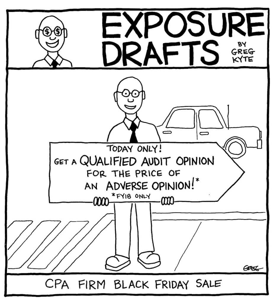 Exposure Drafts: Your Firm's Marketing Department Dropped