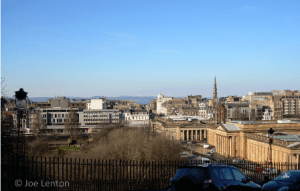 Edinburgh City Scene