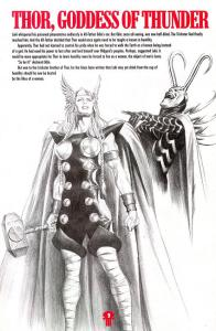 The First female Thor
