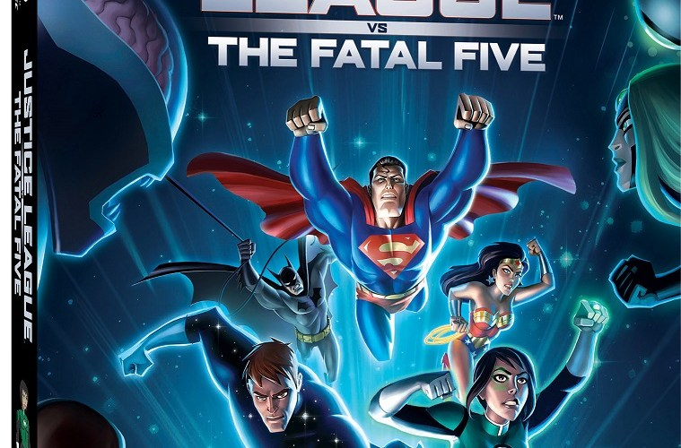 EVIL ARRIVES FROM THE FUTURE TO WREAK HAVOC ON PRESENT-DAY EARTH AS WARNER BROS. HOME ENTERTAINMENT AND DC PRESENT  JUSTICE LEAGUE VS. THE FATAL FIVE