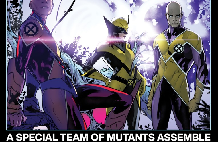 HICKMAN AND SILVA ASSEMBLE A SPECIAL TEAM OF MUTANTS IN X-MEN #5!