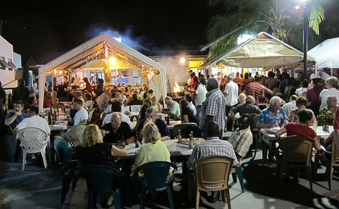 Friday Night in Barbados