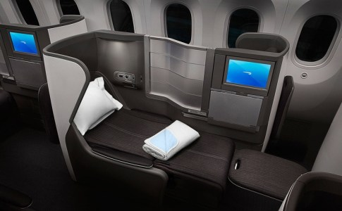 Long Haul Seats on Short Haul Flights