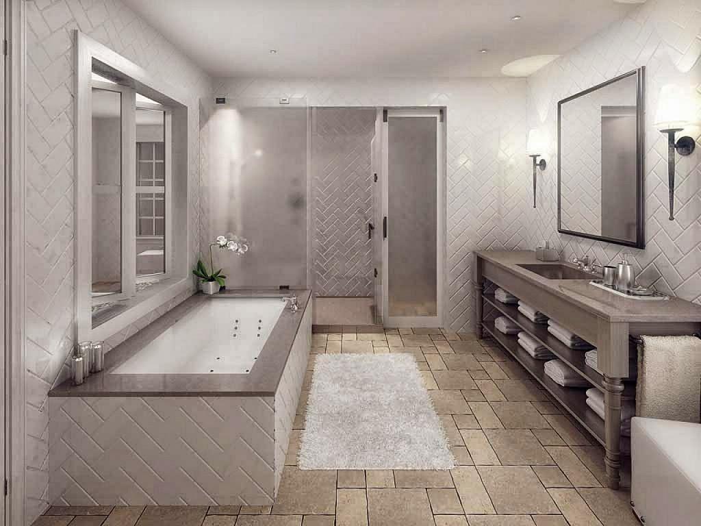 A great bathtub is a bonus