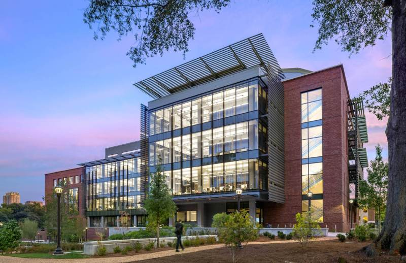 Georgia Tech Engineered Biosystems Building é certificado LEED Platinum