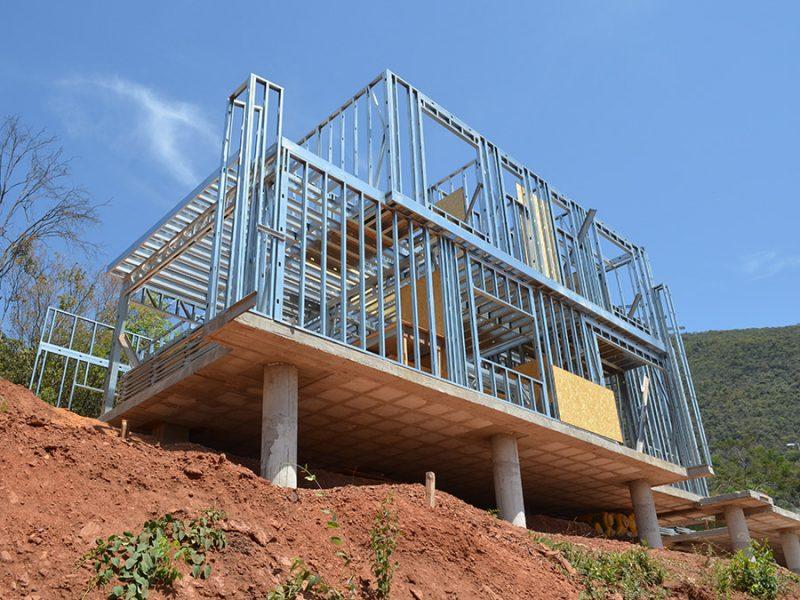 Steel frame trouxe mais uma opção de sustentabilidade à construção civil
