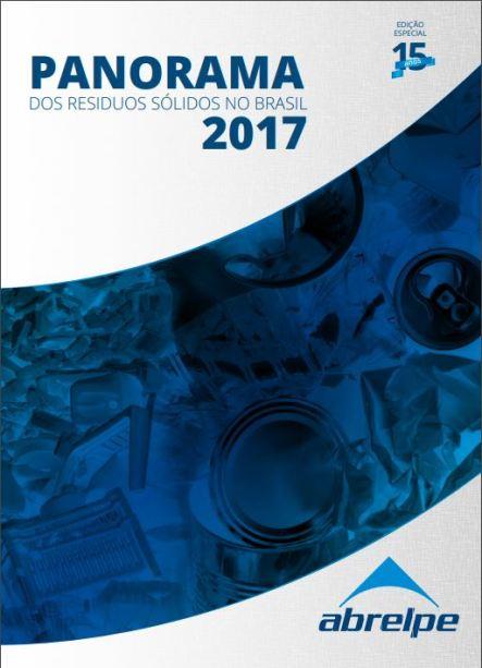 Capa do Panorama dos Resíduos Sólidos no Brasil 2017