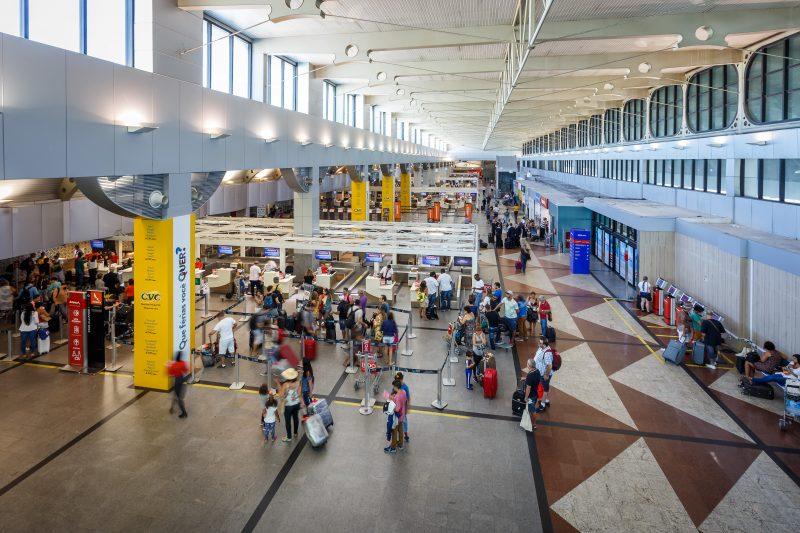 terminal de passageiros Aeroporto de Salvador