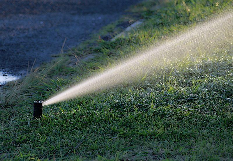 água de reúso para irrigação