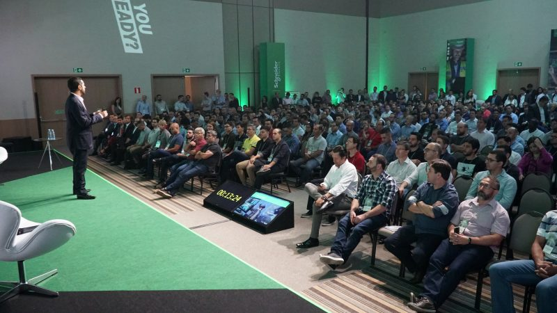 Schneider Electric Brasil durante o Innovation Day 2019