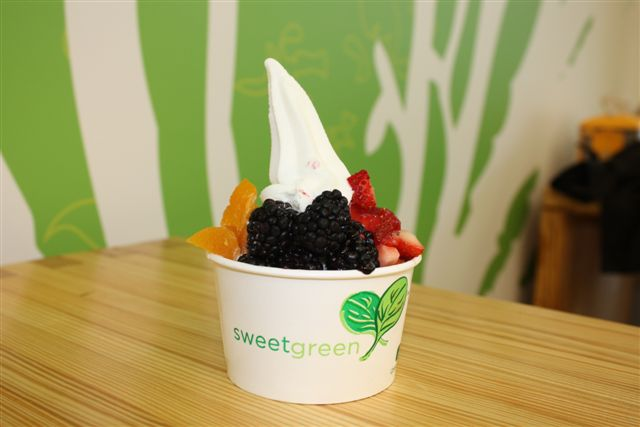 Sweetgreen fro-yo courtesy of Sweetgreen