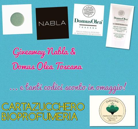 giveway cartazucchero bioprofumeria