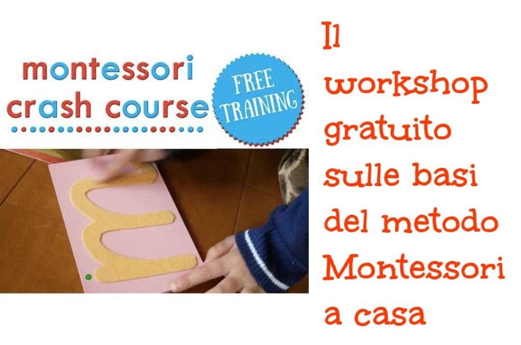 Workshop gratuito Montessori