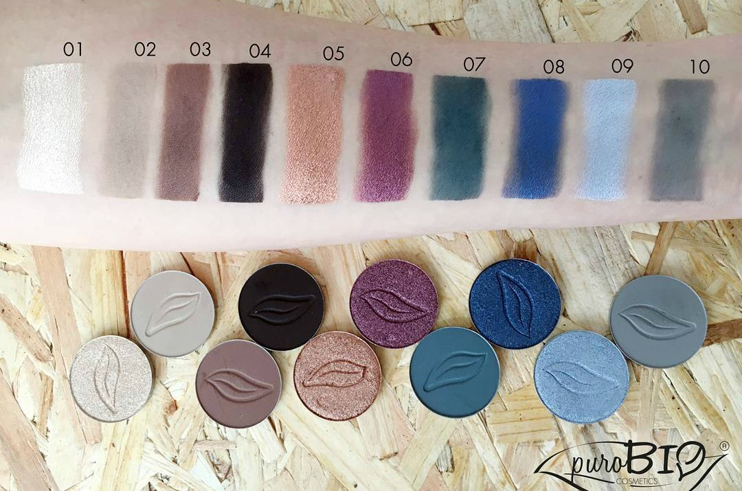purobio swatches live in colors
