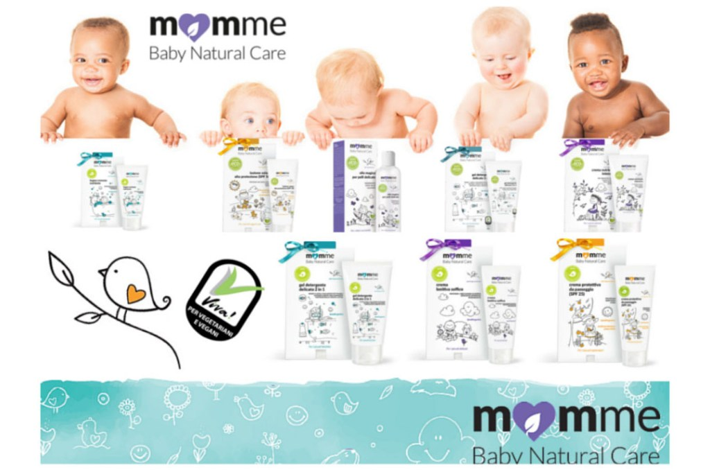 Momme natural care collage