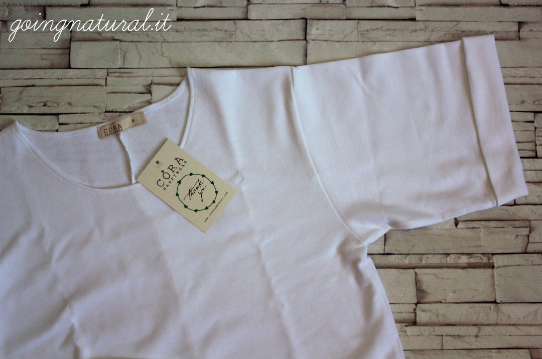 t-shirt cora happywear modal