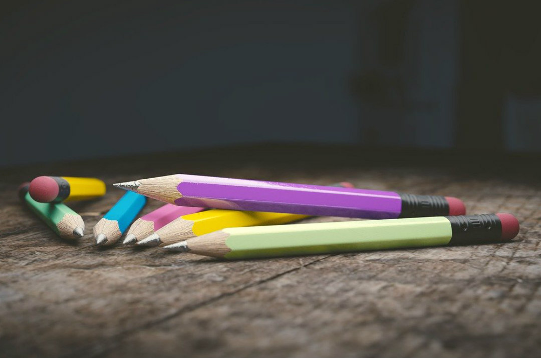 materiale scolastico scuola primaria matita