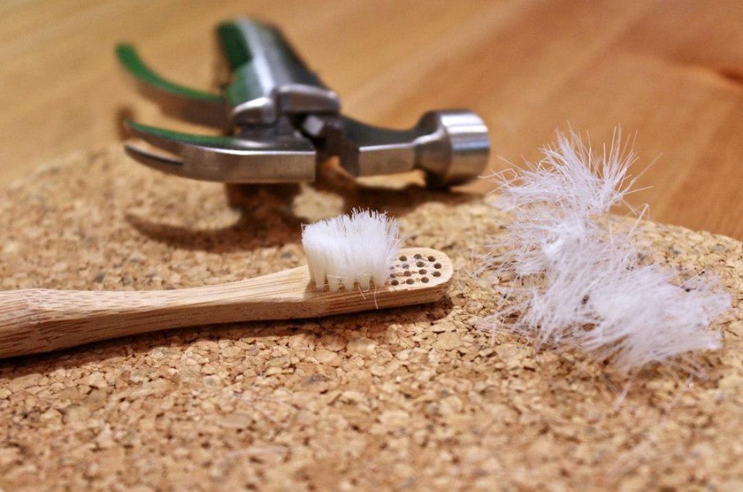 spazzolini in bambù smaltimento