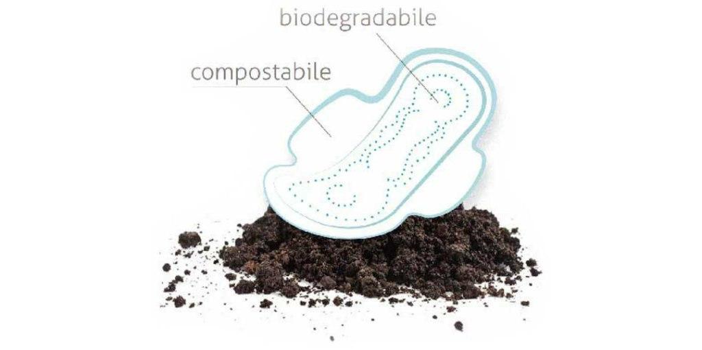 assorbenti biodegradabili compostabili