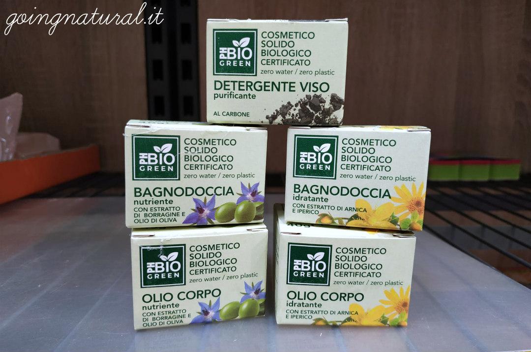 PH Bio Green prodotti disponibili