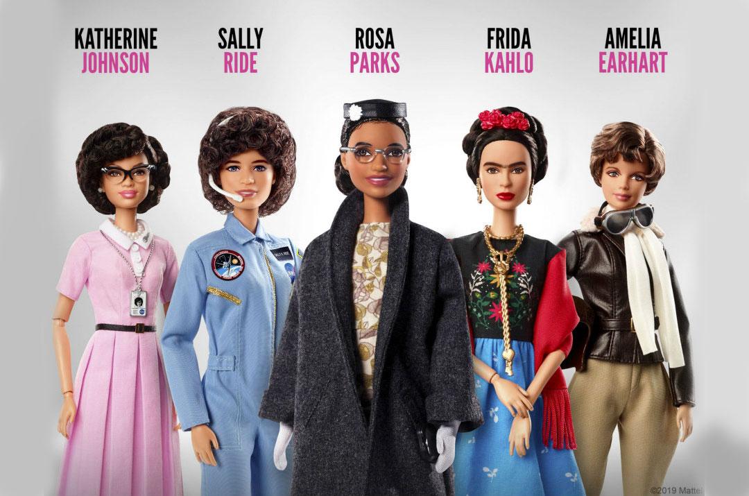 Barbie inspiring women