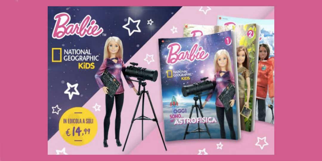 Collezione da edicola Barbie National Geographic